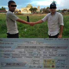 Astaghfirullah, Jangan Ditiru Ya... Dua Pria Ini Viral Gara-gara Taruhan Pilpres dengan Tanah 1 Hektare