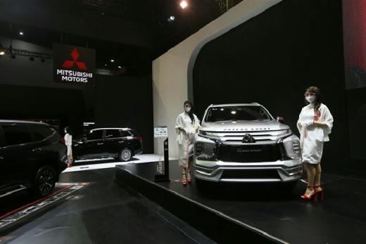 Kali Pertama Mitsubishi Motors Ikut Partisipasi Online dan Ofline di Ajang IIMS Hybrid 2021