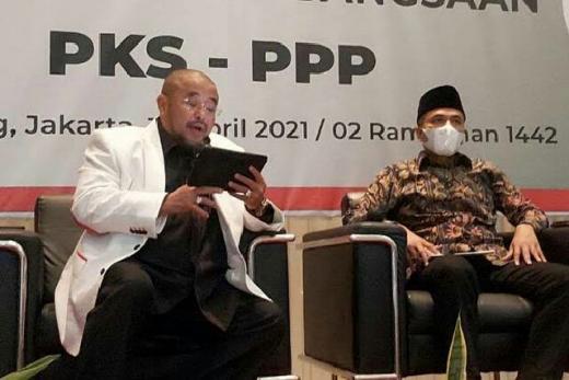 Sama-sama Partai Berbasis Islam, PKS-PPP Buka Wacana Koalisi di Pilpres 2024