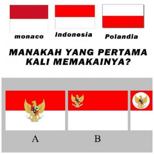 Alasan Ada Beberapa Negara yang Benderanya Mirip, Muncul Usulan Merah Putih Berlogo Garuda Pancasila