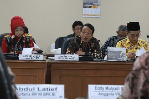 BAP DPD RI Konsultasi ke BPK RI Soal Aspirasi Masyarakat, Ghafar Usman: Kami Ingin Tata Kelola Keungan BRI Diaudit