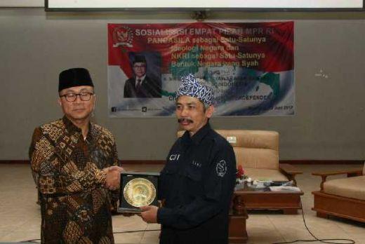 Ketua MPR: Indonesia Maju dengan Pancasila dan Rasa Saling Percaya