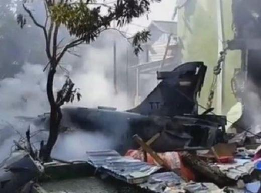 Pesawat TNI Jatuh di Riau, Kadispenau: Tak Ada Korban Jiwa, Pilot Berhasil Melontarkan Diri