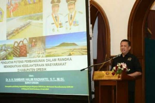 Selain Pangan Mandiri, Ketua DPR Yakin Gresik Bakal Maju Lewat Wisata Religi