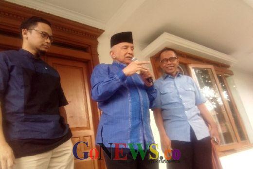 Amien Rais Dukung Rekonsiliasi Prabowo-Jokowi, Tapi...