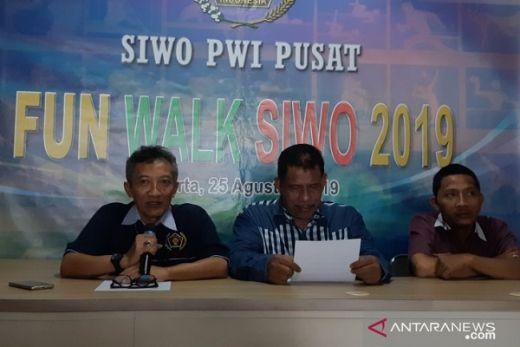 Peringati HUT RI, SIWO PWI Pusat Gelar Fun Walk
