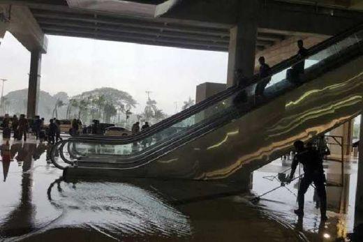 Banjir Genangi Terminal 3 Ultimate Soekarno-Hatta, Angkasa Pura  II Siap Lakukan Investigasi