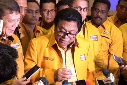 Soal Komposisi Menteri, OSO Mengaku Sudah Diajak Bicara oleh Jokowi