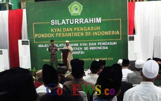 Doakan Maruf Amin, 400 Kyai dan Pengasuh Ponpes, Kumpul di Ponpes Ashiddiqiyah Jakbar