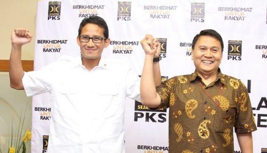 Sandiaga Balik ke Gerindra, PKS: Kami Akan Selalu Bersahabat
