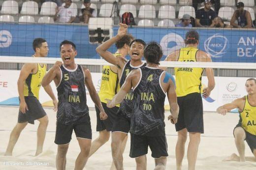 Tim Voli Pantai Indonesia Hadapi Amerika Serikat di Semifinal