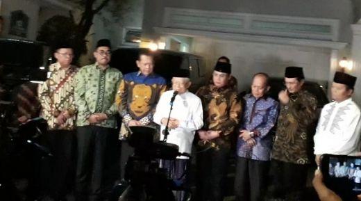 Jelang Pelantikan, Jajaran Pimpinan MPR Sambangi Kediaman Maruf Amin