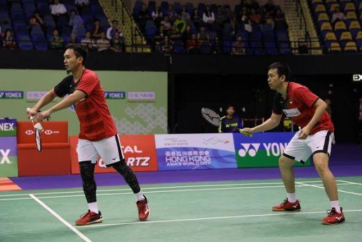 Hendra/Ahsan Melesat ke Semifinal  (