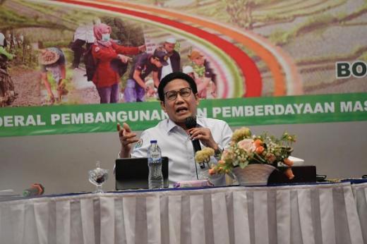 Gus Menteri: Kunci Keberhasilan Performa Kemendes PDTT Ada di Pendamping Desa