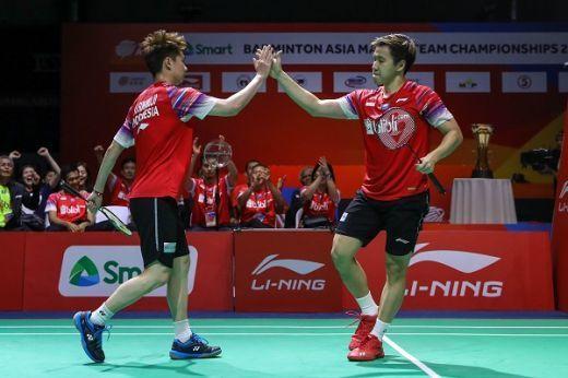 Anthony Sinisuka dan Kevin/Markus Bawa Indonesia Ungguli Malaysia 2-0