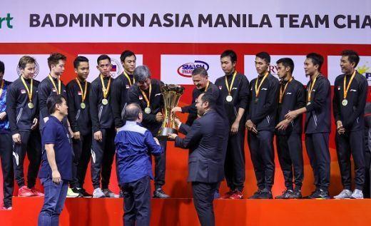 Gelar Juara Asia Jadi Bekal ke Piala Thomas