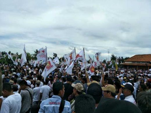 20 Ribu Warga Banten Berbondong-bondong Sambut Prabowo