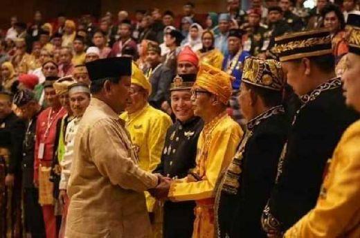 Sambangi Hambalang, Keturunan Raja dan Sultan se-Indonesia Dukung Prabowo