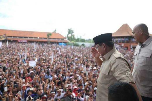 Di Banten, Prabowo: Saya Akan Tersenyum Bangga Setelah Menjalankan Tugas Membela Rakyat