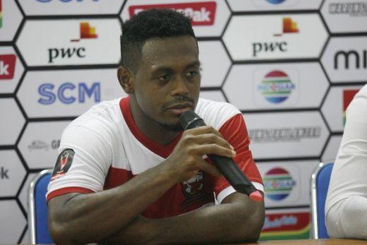 David Laly Senang Madura United Penuhi Target