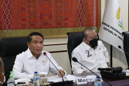 DPD RI Siap Dukung Suksesnya Pelaksanaan PON XX Papua 2021