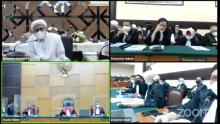 Tak Terima Sidang Virtual, Ini Detik-detik Habib Rizieq Walkout dan Berdebat dengan Jaksa