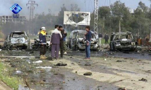 Iring-iringan Bus Pengungsi Suriah Diserang Bom, 112 Tewas