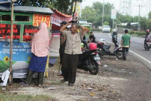 Menyedihkan, Gara-gara Larangan Mudik, Pedagang di Pantura Gigit Jari