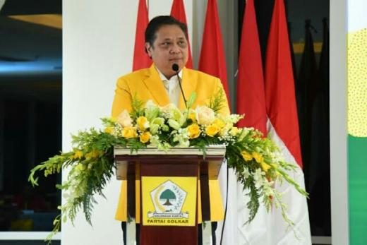 Golkar Tempel PDIP, Airlangga Capres Terkuat