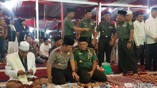 Panglima: TNI Tak Bisa Dipisahkan dengan Ulama dan Santri