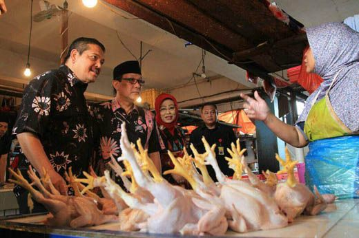 Senator Dailami Firdaus Sidak Pasar Klender