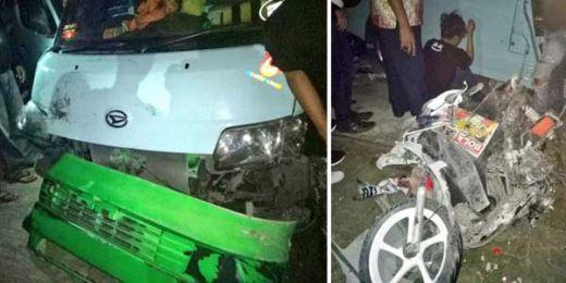 Satu Orang Tewas Saat Kecelakaan Maut Antara Angkot Versus Motor di Jakbar