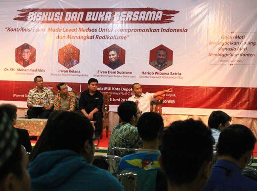 Komunikonten: Ini Tiga Langkah Melawan Radikalisme Bagi Organisasi