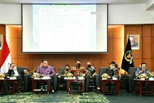 Rapat Gabungan Pimpinan MPR RI Sepakati Format Sidang Tahunan 2020