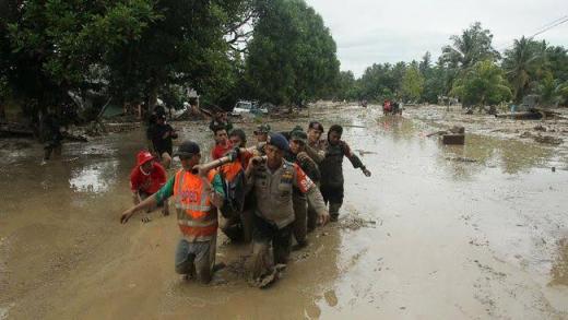 Banjir Bandang saat Pandemi di Luwu Utara, Pimpinan MPR Ajak Masyarakat Gotong Royong