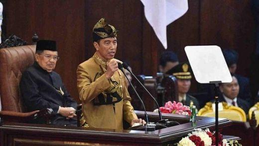 Pidato Sidang Bersama, Jokowi Minta Izin Pindahkan Ibu Kota ke Kalimantan