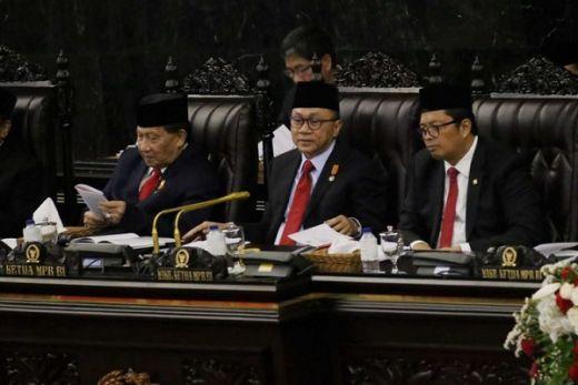 Berikut Pidato Lengkap Ketua MPR RI, Zulkifli Hasan di Sidang Tahunan MPR 2019