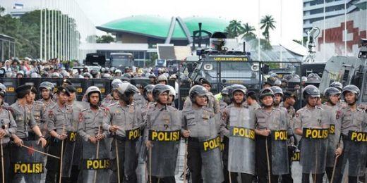 Polri Siagakan 7.500 Personel Amankan Sidang Tahunan MPR