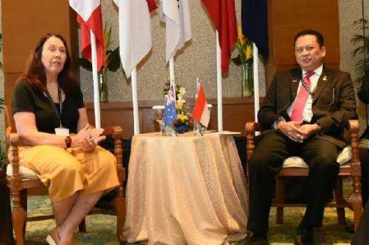 Teknologi Informasi dan Komunikasi, Jadi Bahasan Serius Parlemen RI dan Australia di Bali