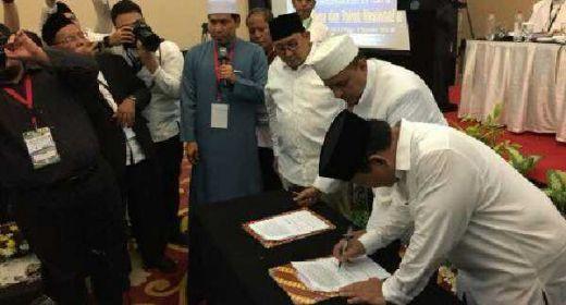 Ijtima Ulama II Dukung Prabowo-Sandi dengan 17 Poin Pakta Integritas