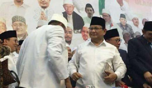 Ini Dia Pesan Habib Rizieq saat Prabowo Teken Pakta Integritas dengan Ijtima Ulama