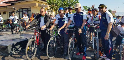 Peserta Gowes Nusantara Membludak di Kupang