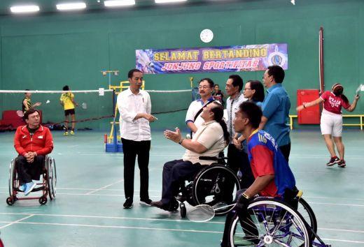 Presiden Sebut Badminton dan Tenis Meja Tambang Emas