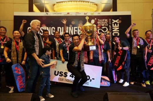 Taufik Hidayat Arena Berjaya di Foo Kok Keong International Cup 2019