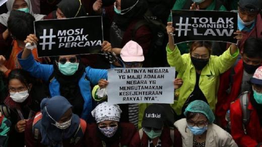 Siang Ini, BEM SI Jabodetabek Akan Kembali Demo Tolak UU Cipta Kerja