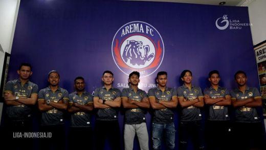 Arema FC Perkenalkan Lima Pemain Baru