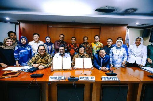 Sejahterakan Daerah, Komite II DPD RI Jalin Kerjasama dengan Kementerian LHK