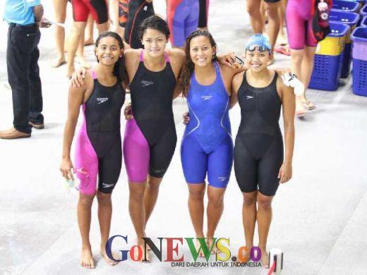 Perenang Muda Pecahkan 3 Rekornas di Singapura