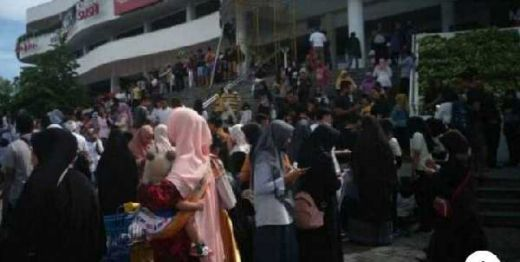 Breaking News: Gempa 5,8 SR Kembali Guncang Lombok, Warga Berhamburan Keluar