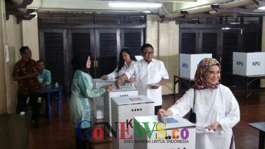 Usai Nyoblos, OSO Pede Jokowi Menang 60 Persen di TPS Nya